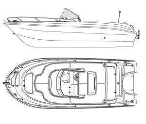 Plano de Pacific Craft 670