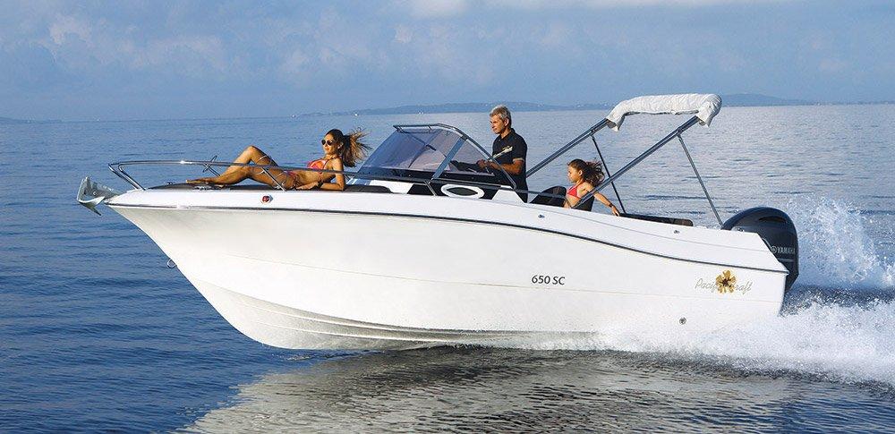 Pacific Craft 650 Sun Cruiser