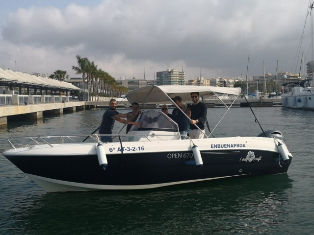 Pacific Craft 670 Open babor